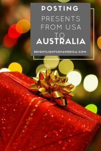 Posting presents | mail | US mail | US postage | Overseas postage | US postage to australia | Aussie | Expat | Aussie Expat in US | expat life