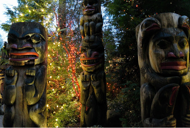 Squamish Nation Totem Poles