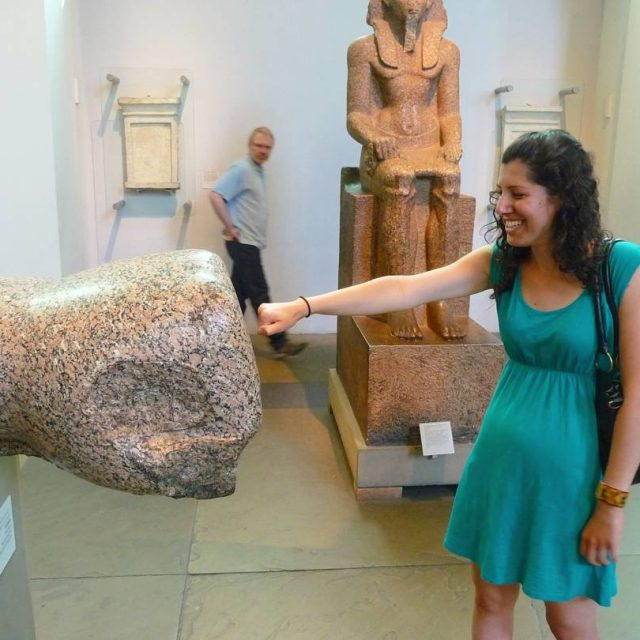 Ancient Egyptian fist bump time Its very Londonlike weather inhellip