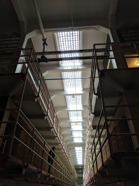 Alcatraz Island cellblock