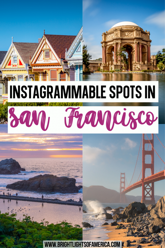 Find 27 of the most Instagrammable photo spots in San Francisco. You'll get the best views and some epic holiday snaps to go along with them! Best Photo Spots in SF | California | San Francisco | Instagrammable San Francisco | Most Instagrammable Places in San Francisco | San Francisco Instagram Spots | Photograph in San Francisco | San Francisco Photo Spots