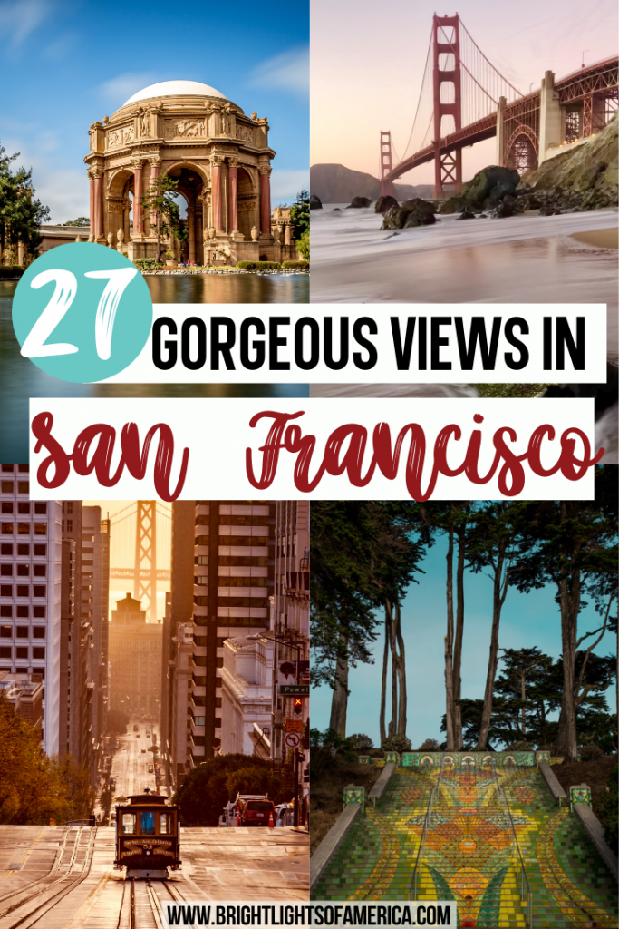 Where to find the best views in San Francisco to get that perfect instagram-worthy shot of a beautiful city.