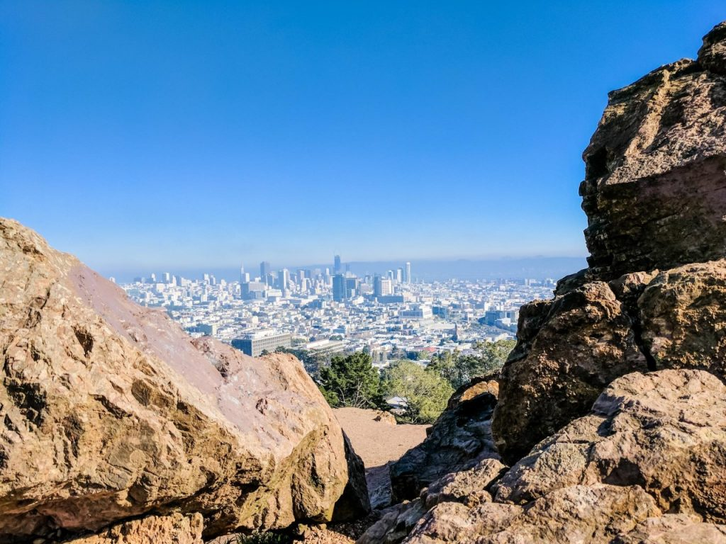 View from Corona Heights, San Francisco