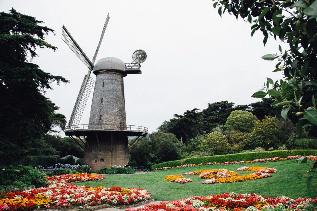Golden Gate Park windmill, San Francisco