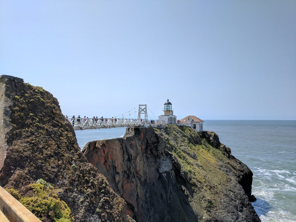 Point Bonita Lighthouse in San Francisco