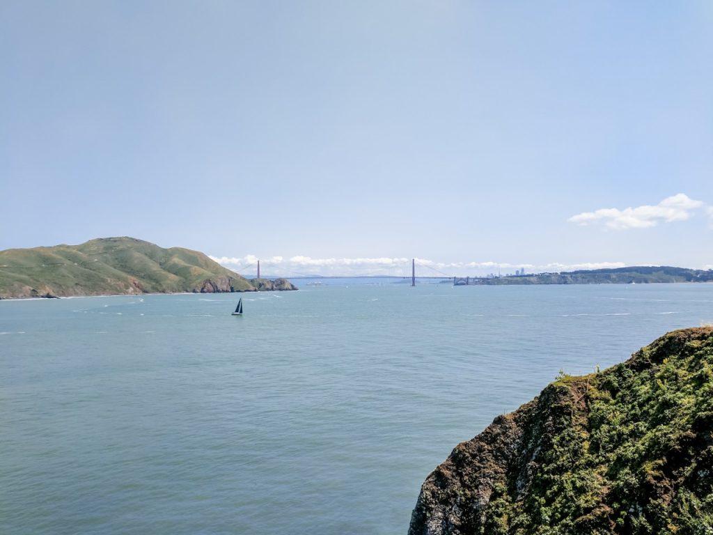 Point Bonita Lighthouse view