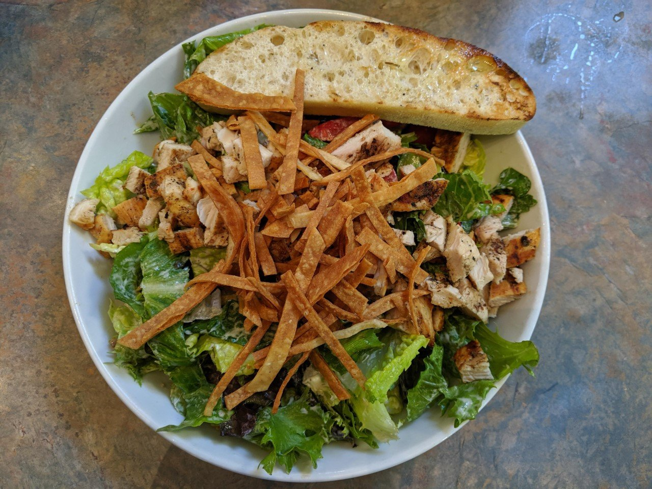 Chicken salad at the Standard Pour, Sonora