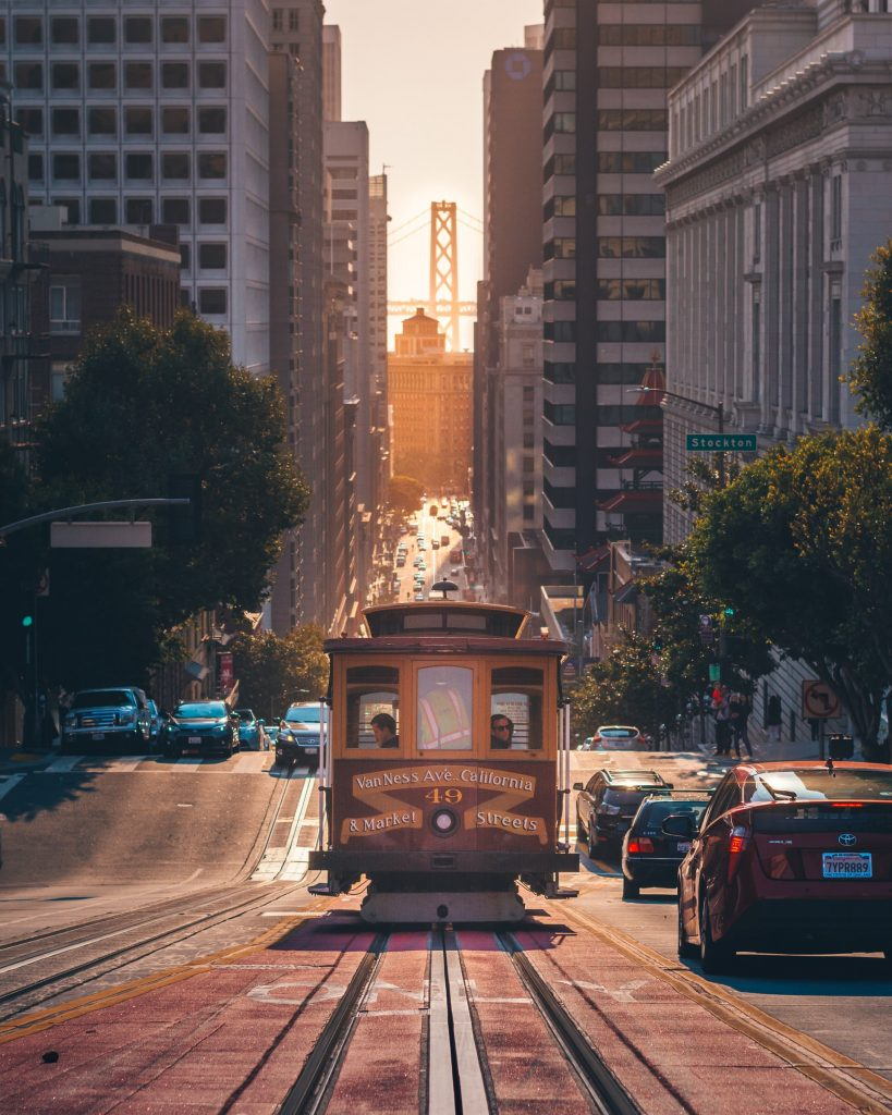 Van Ness Avenue Cable Cars