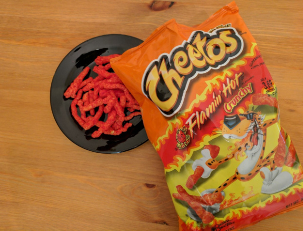 Flaming Hot Cheetos, junk food