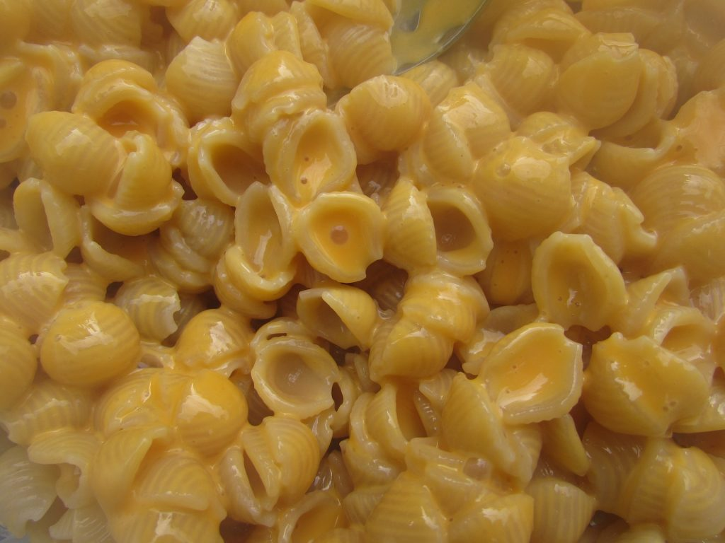Mac and Cheese, junk food