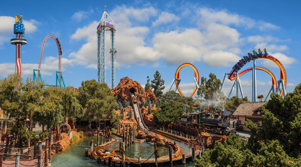 Knott's Berry Farm, Los Angeles, California