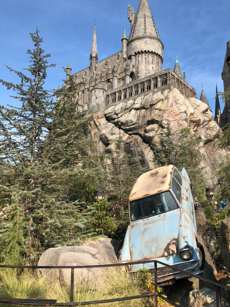 The Wizarding World of Harry Potter at Universal Studios in Los Angeles