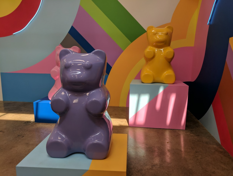 ice cream museum gummy bears