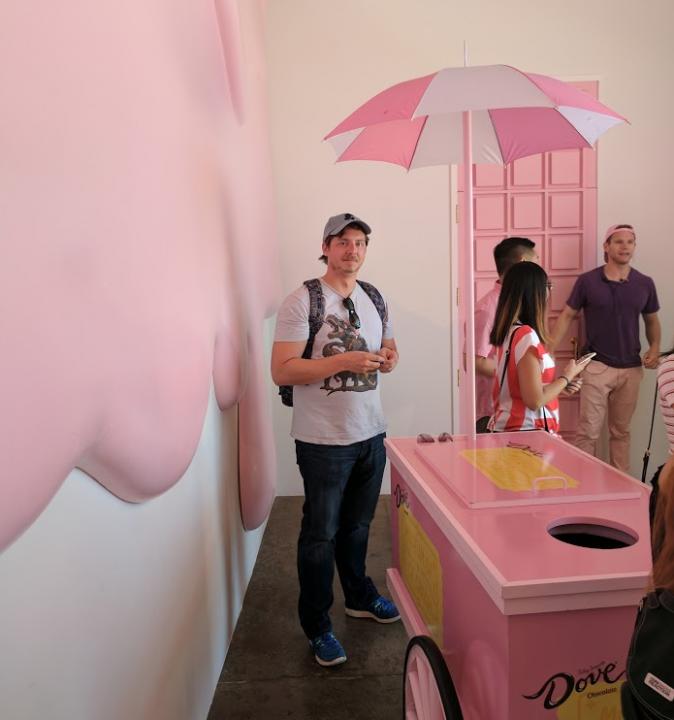 ice cream museum room one
