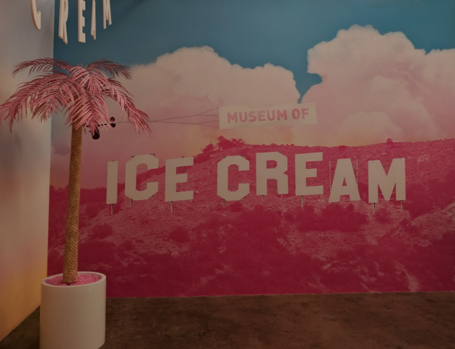 museum of ice cream hollywood sign