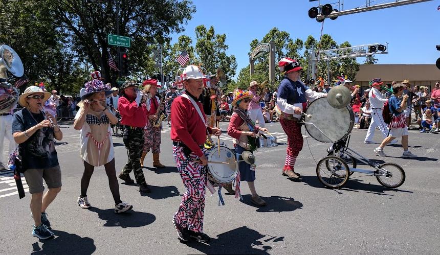 Los-trancos-woods-community-marching-band