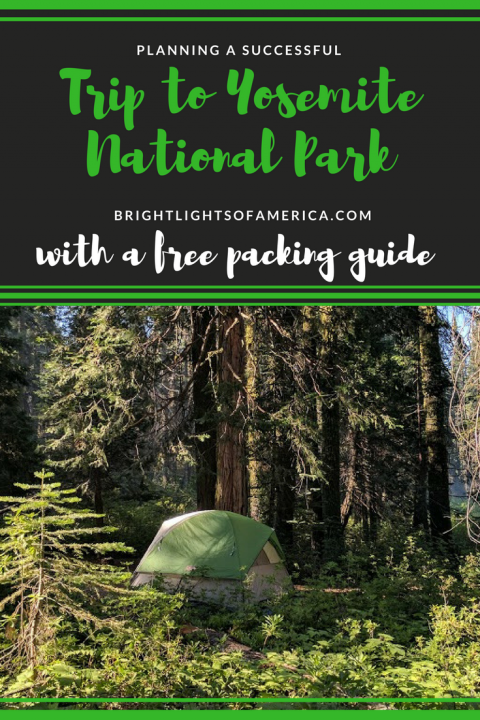 Camping | Yosemite | Camping in Yosemite | Yosemite RV trip | planning a trip to Yosemite | Free Yosemite packing guide | Aussie Expat | Aussie | Expat | Aussie Expat in US | expat life