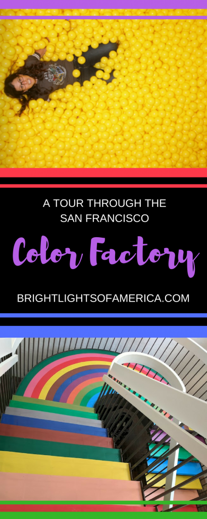 Color Factory | San Francisco Color Factory | Colors | Things to do in San Francisco | Kids trips in San Francisco | rainbows | colors | pretty colors | Aussie Expat | Aussie | Expat | Aussie Expat in US | expat life