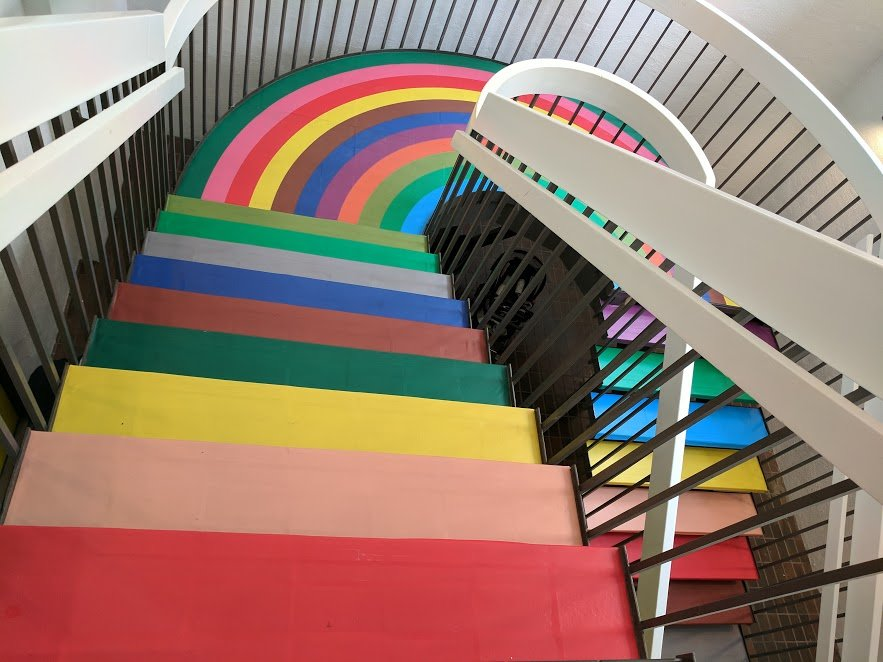 Color Factory Stairwell