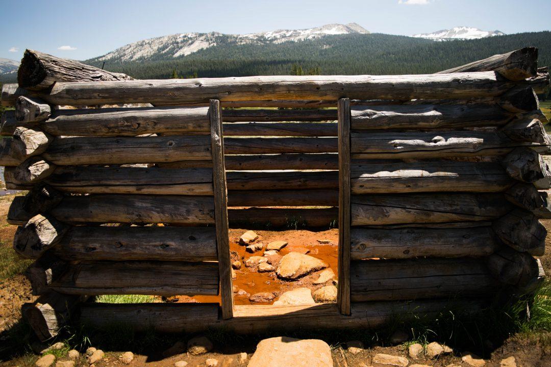 Tuolumne Meadows Soda Springs. Two days in Yosemite