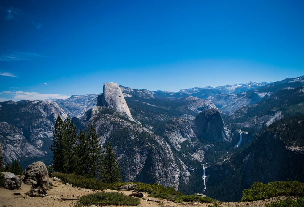 Two days in Yosemite, Yosemite and Vernal Falls