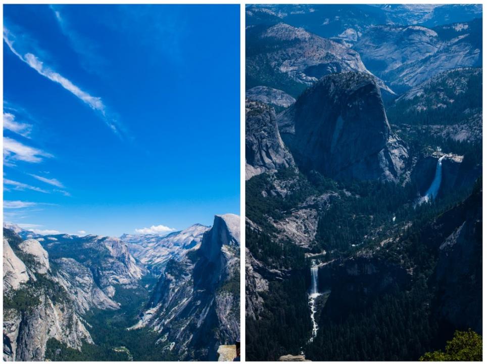 Glacier-Point-waterfalls
