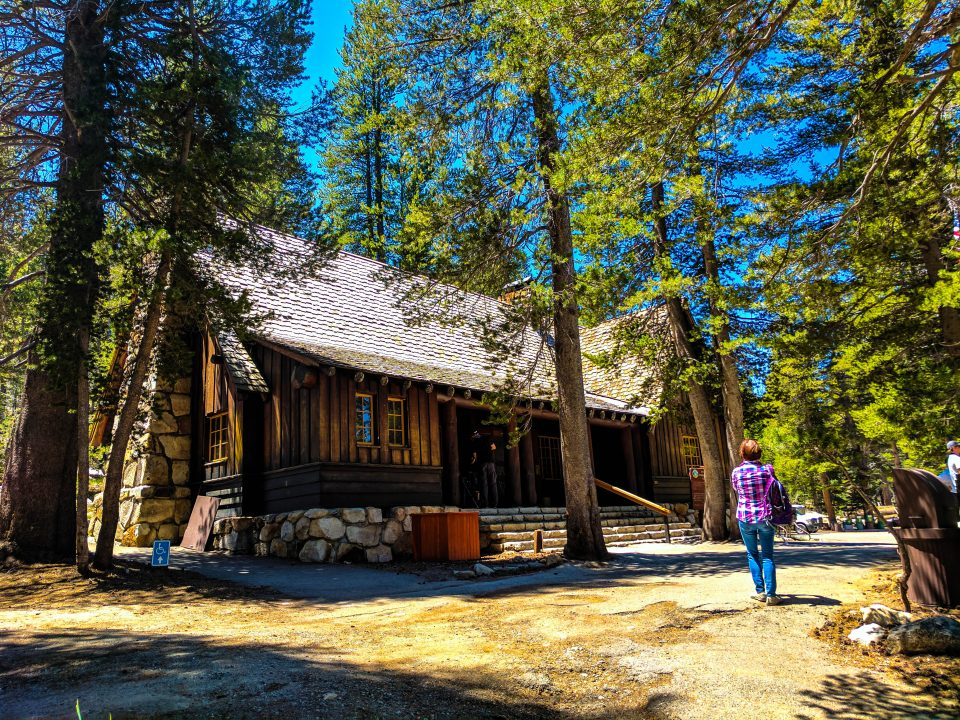 Two days in Yosemite Tuolumne Meadows Visitor Center