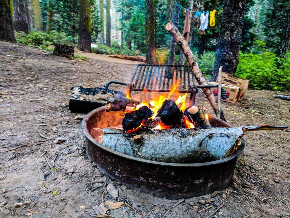 Two days in Yosemite Campfire