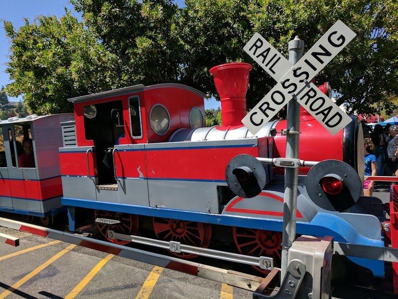 Six Flags Discovery Kingdom Train