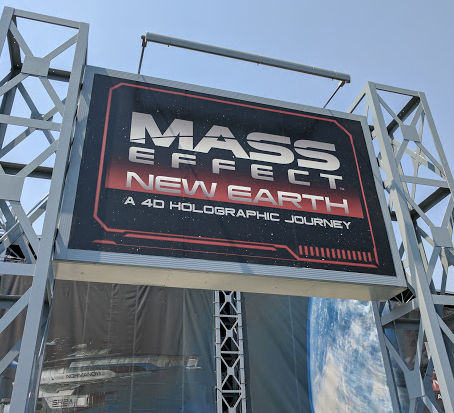 mass effect new earth, California's Great America