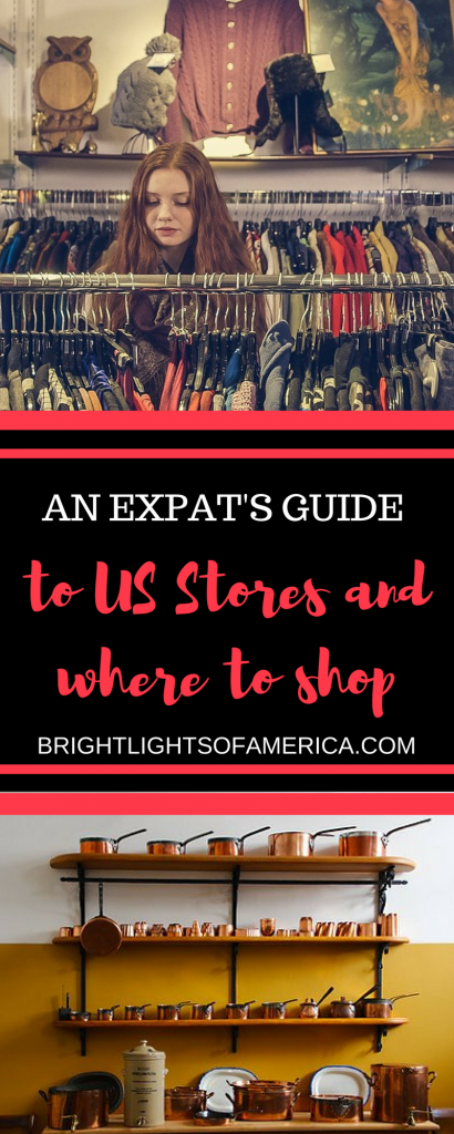 Where to shop in the US | shopping | US stores | US shops | Shopping in America | Aussie Expat | Aussie | Expat | Aussie Expat in US | expat life