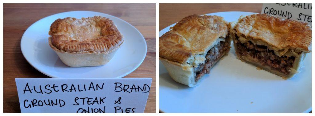 Australian Brand meat pie