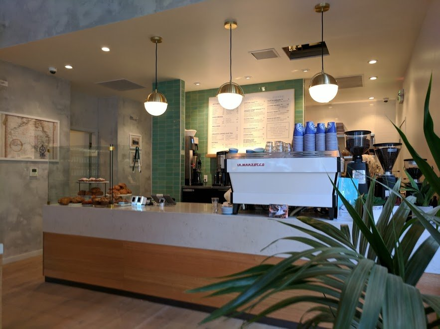 Bluestone Lane Australian coffee in San Francisco