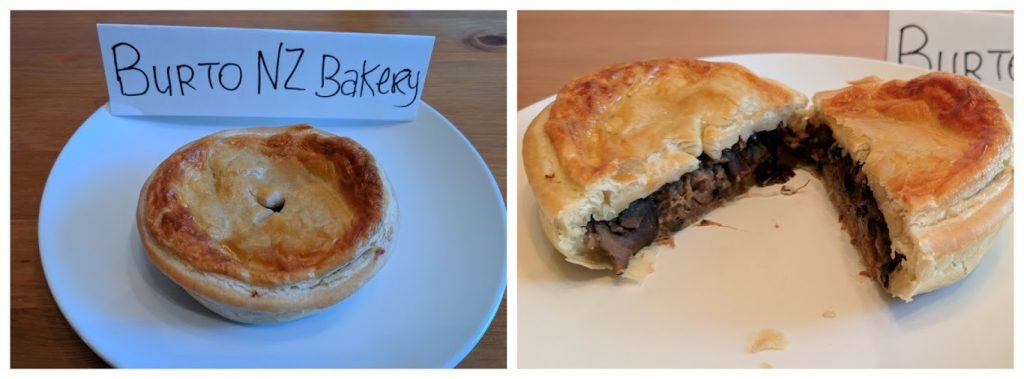 Burto NZ Bakery meat pies
