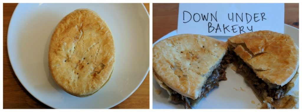 Down Under Bakery meat pies