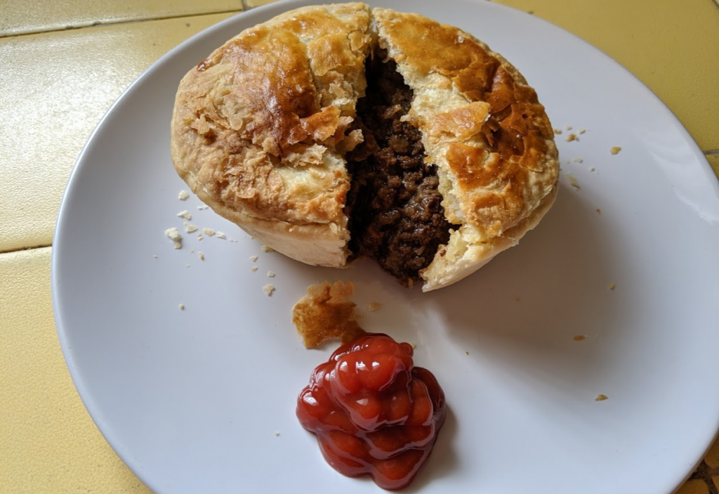 Australian meat pie from Jay Jay Wolfpie