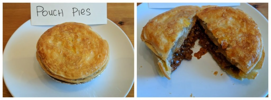 Pouch Pies Meat Pies
