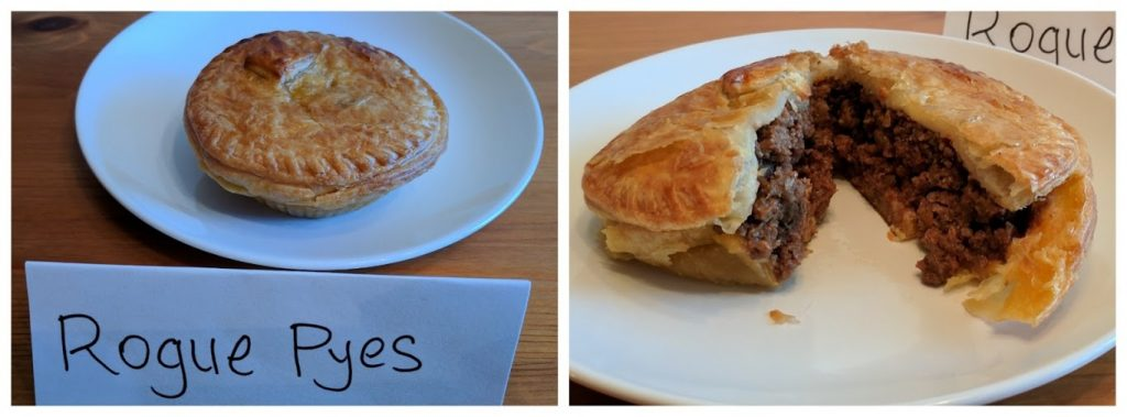 Rogue Pyes meat pies