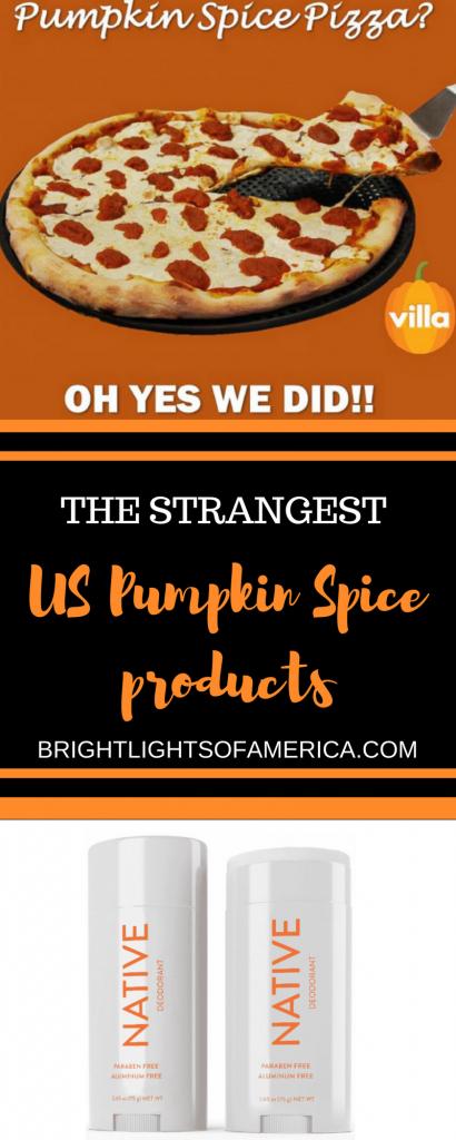 Pumpkin Spice | Fall | Autumn | pumpkin Spice Deodorant | Pumpkin Spice Pizza | Pumpkin Spice Latte | Aussie | Expat | Aussie Expat in US |