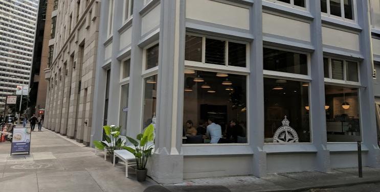 Australian coffee in San Francisco