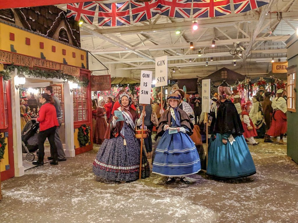 Victorian Christmas Fair in San Francisco