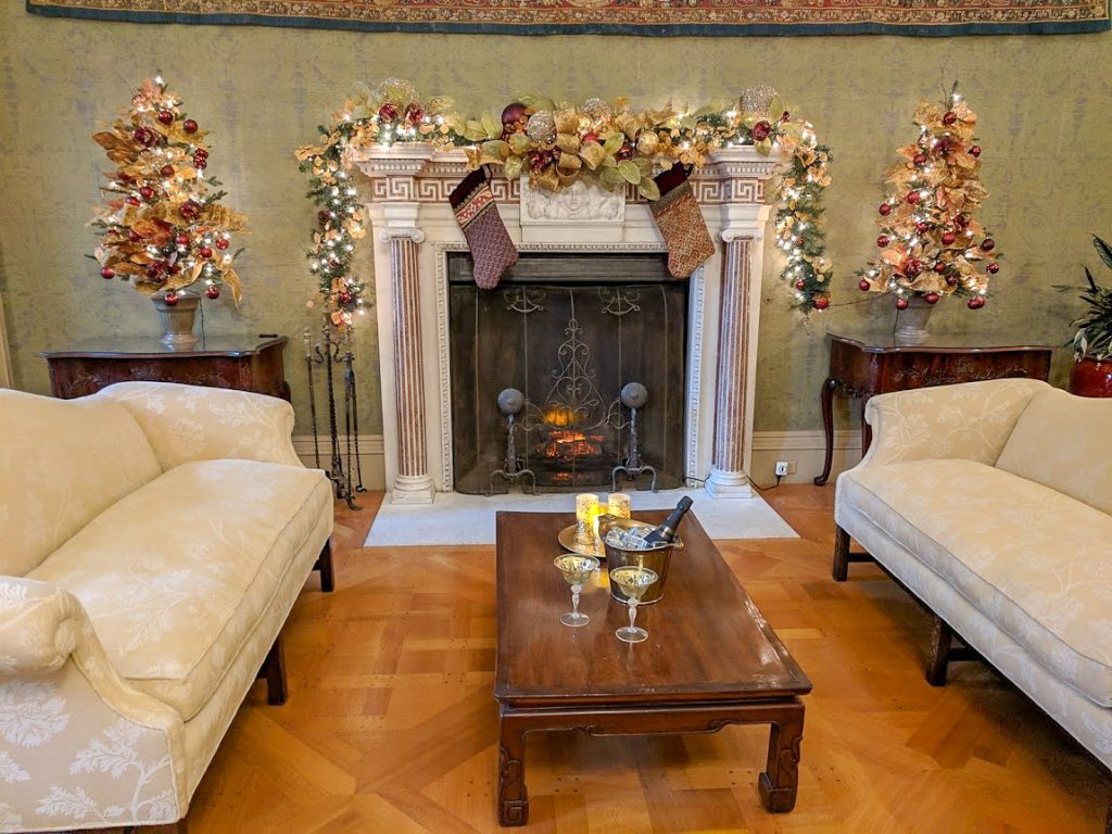 Filoli Estate set up for the Holidays