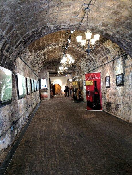 Testarossa Winery cave