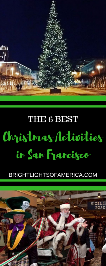 Christmas activities | Things to do in San Francisco | San Francisco at Christmas | #Christmas | #ChristmasinSanFrancisco | The Nutcracker | Christmas lights in San Francisco | Christmas Markets | #SanFranciscoChristmasMarkets