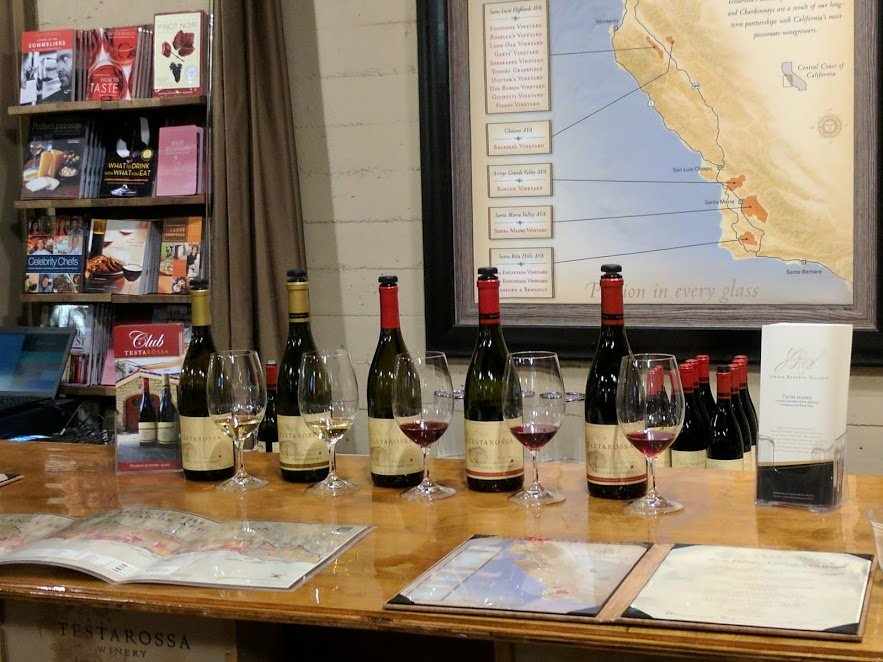 Testarossa Winery Wine Tasting