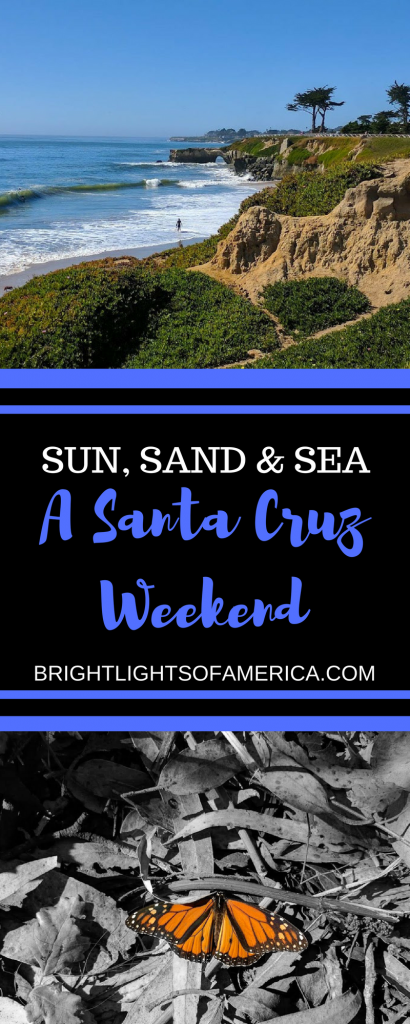Santa Cruz | #WeekendinSantaCruz | Santa Cruz Weekend | #SantaCruz | #SurfinginSantaCruz | Surfing | Santa Cruz Wineries | Things to do in Santa Cruz | The Mystery Spot | #SantaCruzBeaches | #SantaCruzBoardwalk