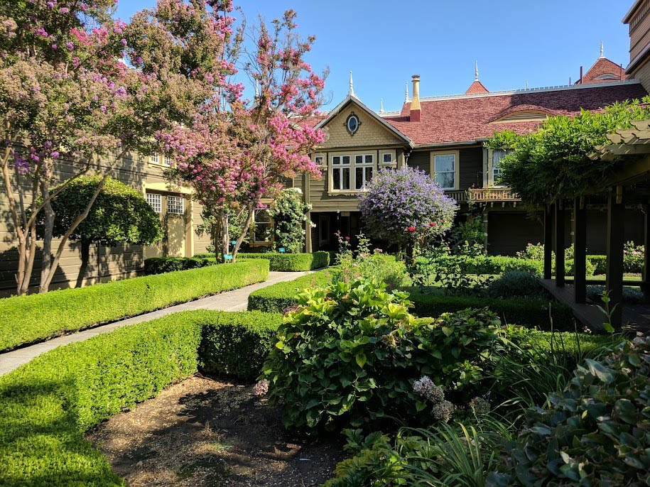 Winchester House's Victorian Gardens