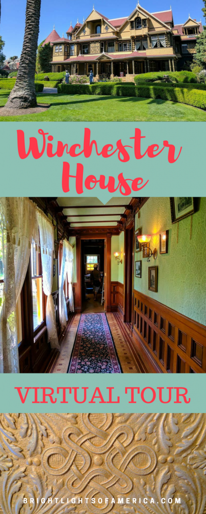 Winchester Mystery House | Winchester House | Winchester House Virtual Tour | Sarah Winchester | Ghost Tours | US Haunted Houses | #hauntedhouses | #UShauntedhouses | #Victorianhomes | #Winchester | Aussie Expat | Aussie | Expat | Aussie Expat in US | expat life
