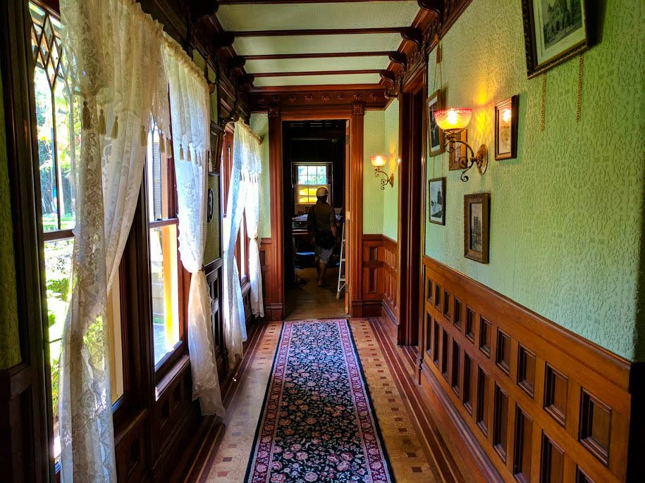 A corridor within Winchester House