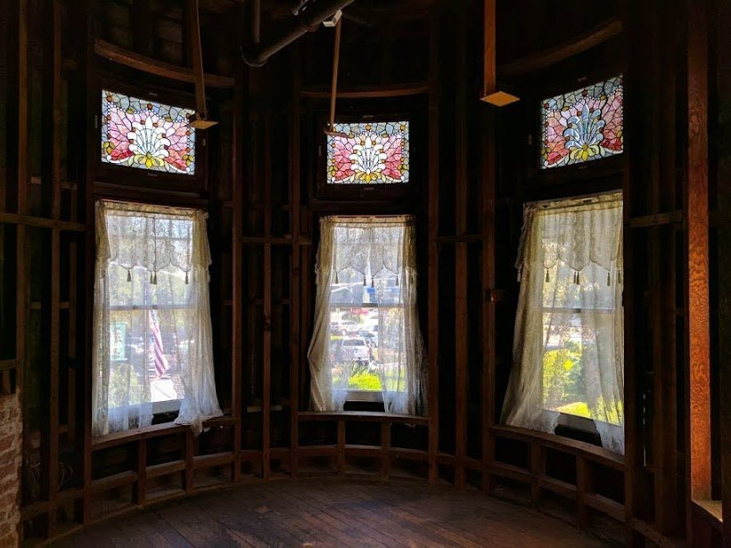 Winchester Mystery House stained glass windows